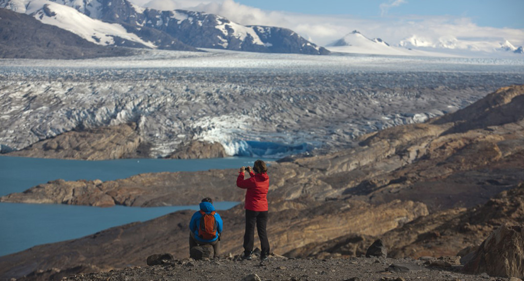 Fossil Canyon Trek Upsala glacier - things to do in argentina