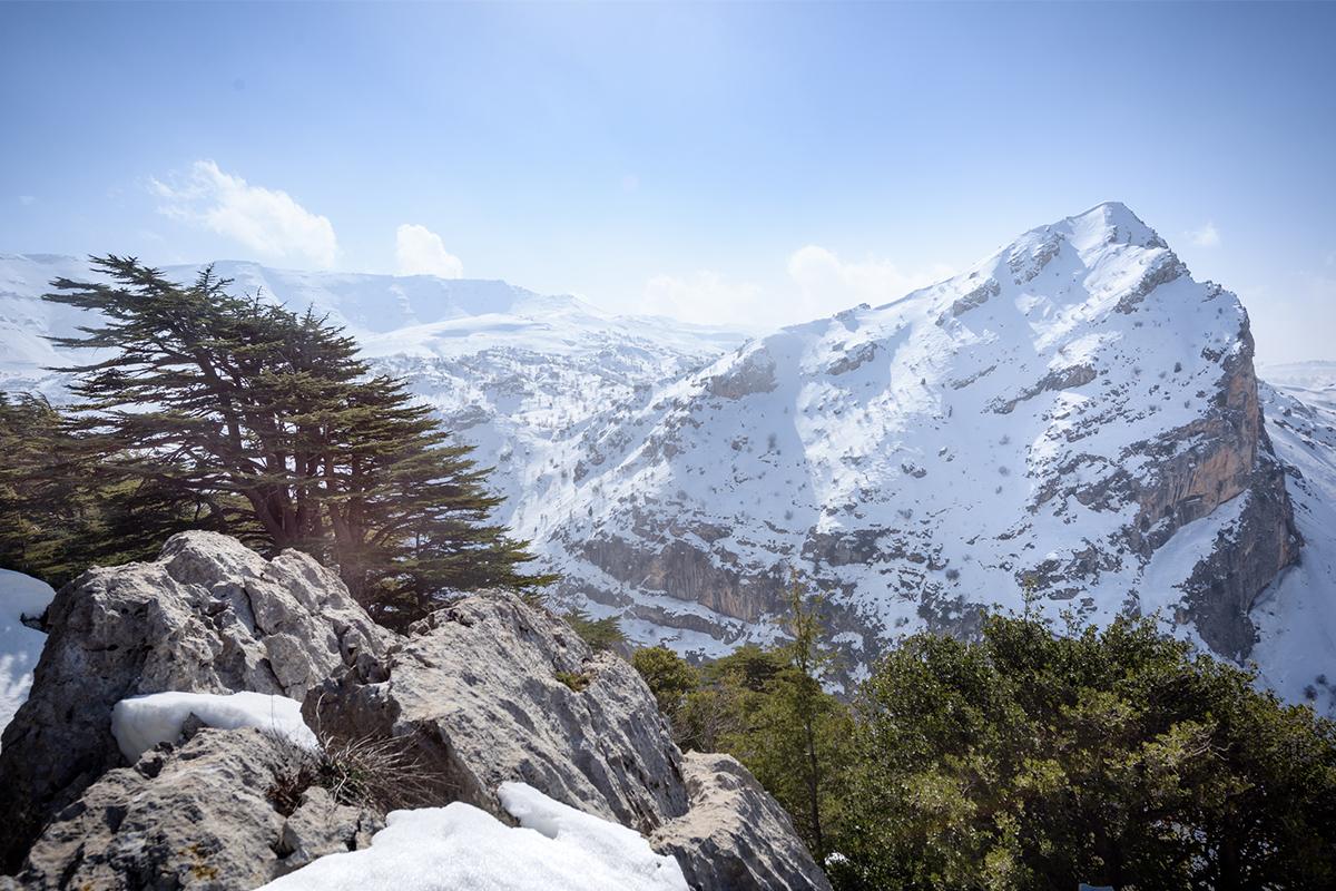 skiing in Lebanon slopes