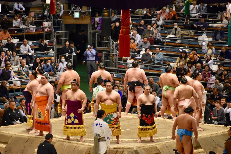 sumo wresting Japan