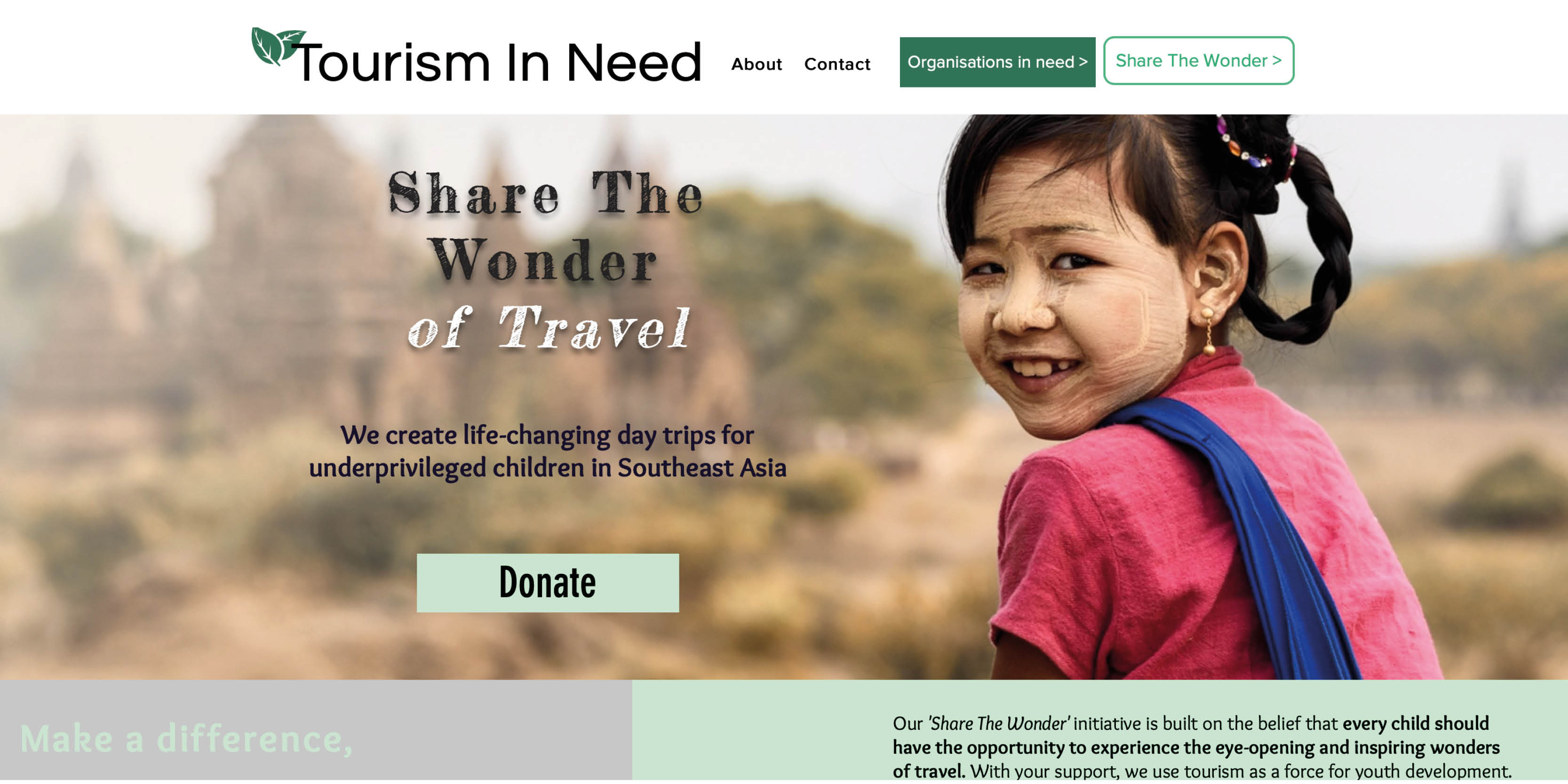 tourism in need