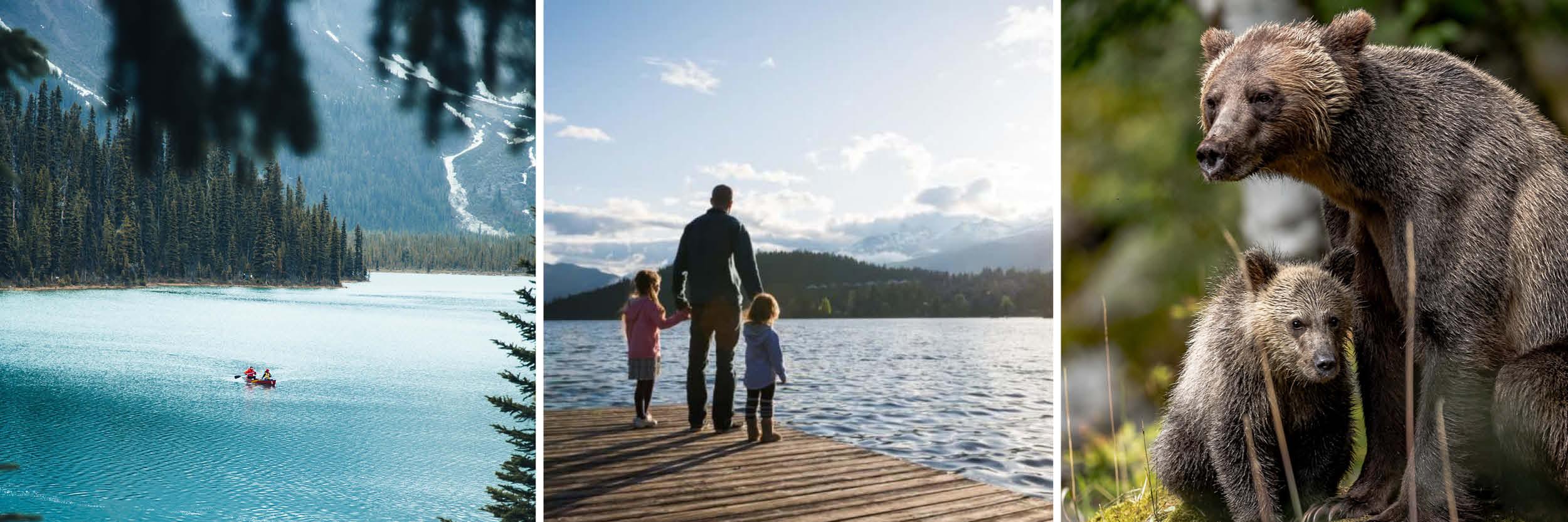 Canada holiday family roadtrip
