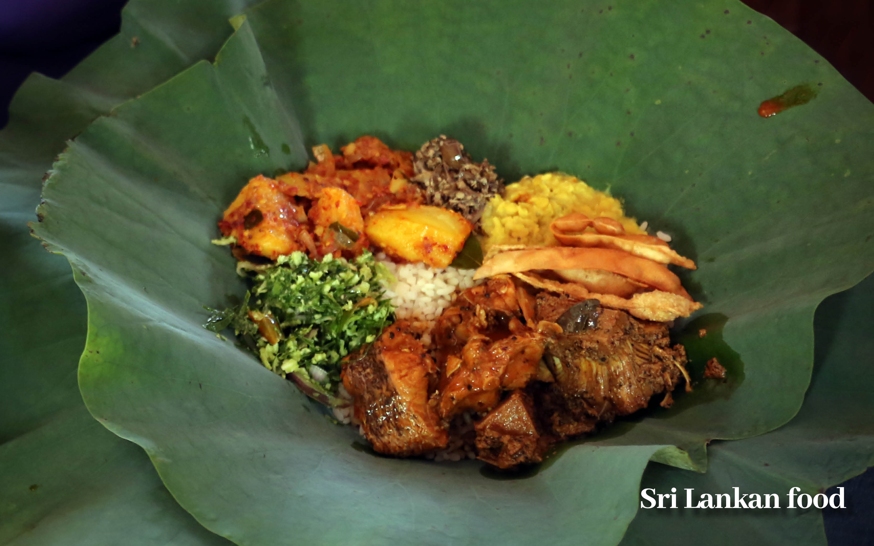 Sri Lanka holiday offer local experience food