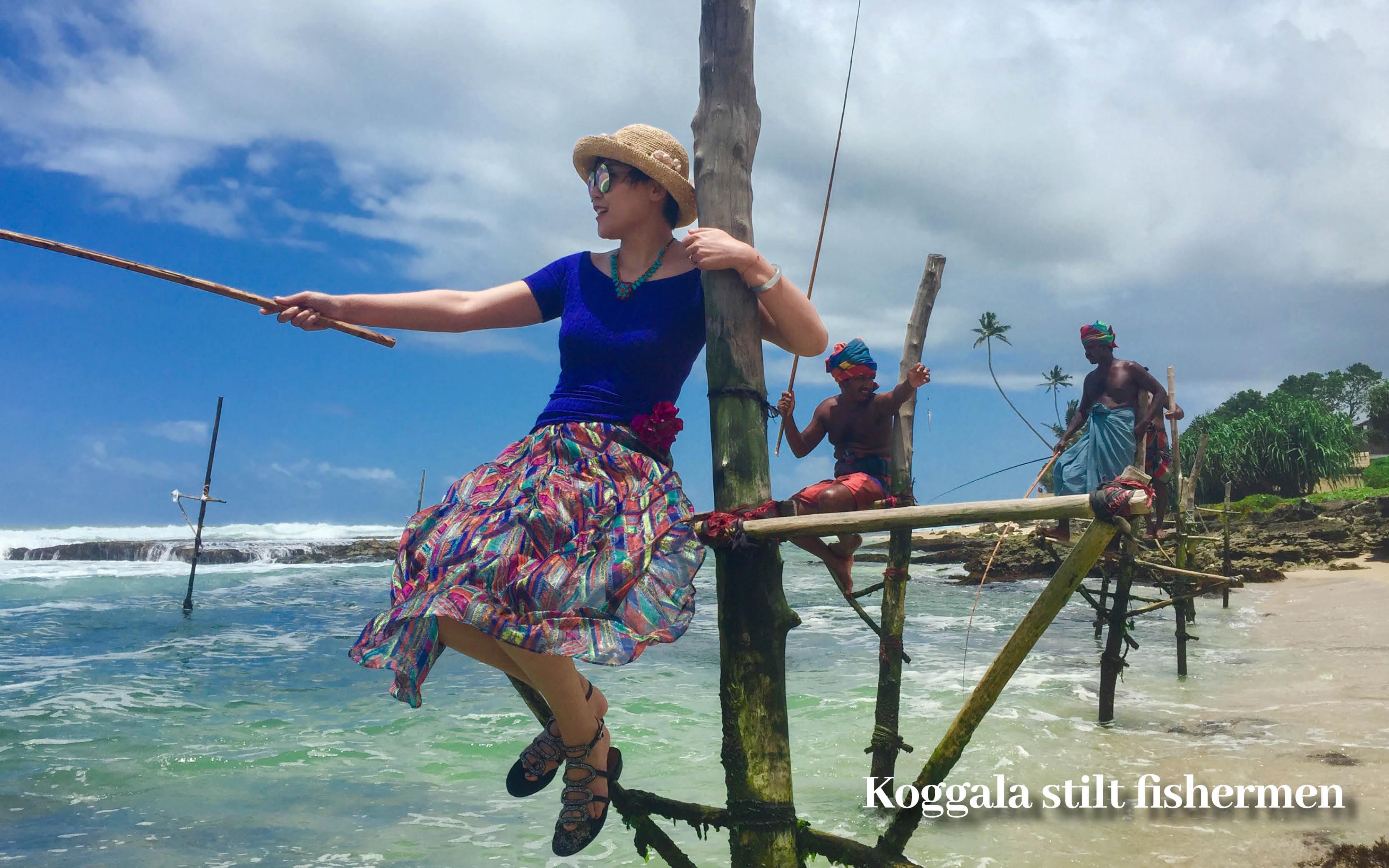Sri Lanka holiday offer stilt fishermen