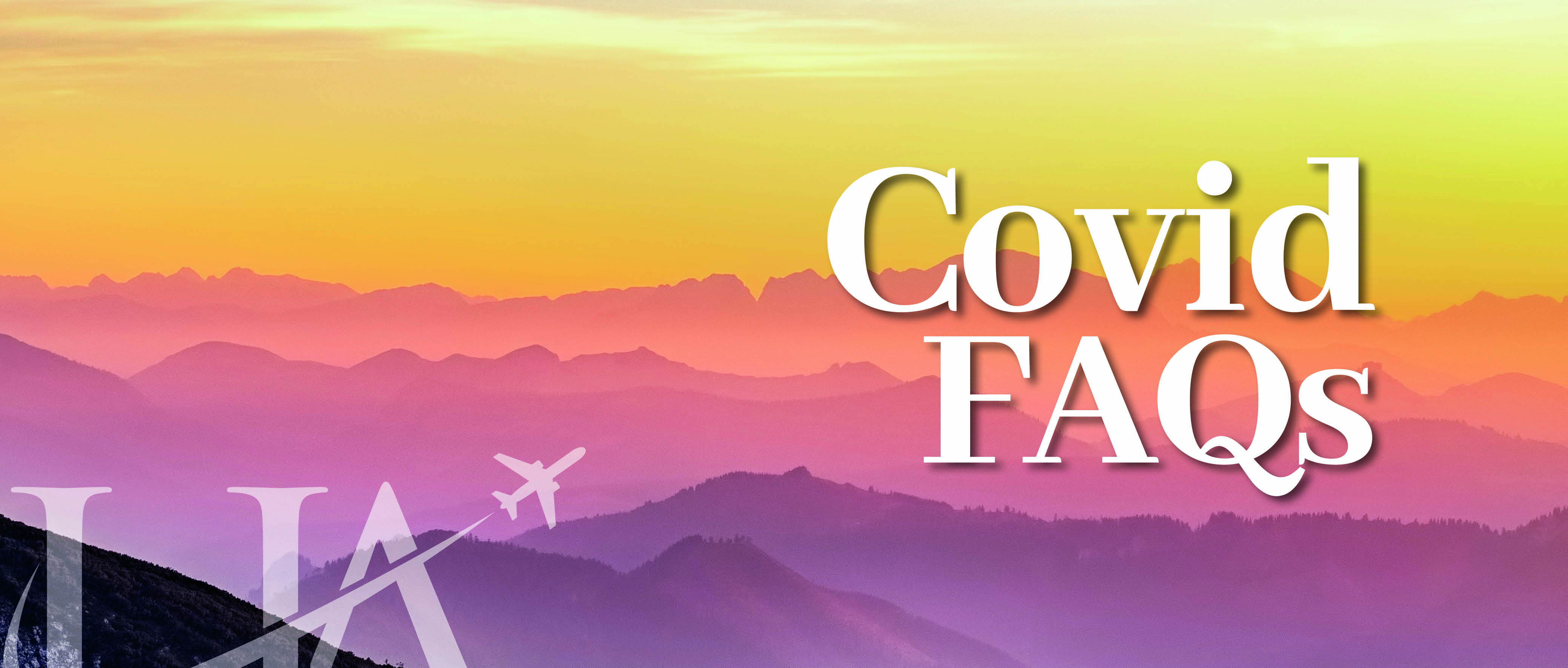 Travel with Confidence Covid FAQs